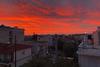 Τα μελαγχολικά πυρακτωμένα δειλινά του Νοέμβρη στην Πάτρα (φωτο)