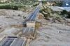 Ρόδος - Γέφυρα κόπηκε στα δύο από την κακοκαιρία (φωτο)
