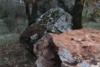 Αχαΐα: Αποκολλήθηκε μεγάλος βράχος στο Λειβάρτζι (φωτο)