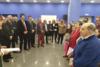 Χριστουγεννιάτικα τραγούδια και τα κάλαντα από την ΠΕΓΚΑΠ-ΝΥ στα κεντρικά γραφεία της Νέας Δημοκρατίας
