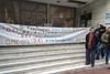 Απεργιακές συγκεντρώσεις έξω από τα κεντρικά καταστήματα ΟΤΕ σε όλη την Ελλάδα