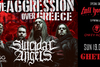 Suicidal Angels Live Aggression Over Patra w. Guests at Ghetto