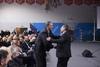 Πάτρα - Ο Πελετίδης παρών στην τελετή ονοματοδοσίας του κλειστού γυμναστηρίου στο Κουκούλι σε «Κώστας Πετρόπουλος»