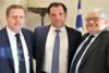 Ηλεία: Kώστας Τζαβάρας και Γιώργος Γεωργιόπουλος συναντήθηκαν με τον Άδωνι Γεωργιάδη