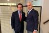 Με τον υπουργό Μετανάστευσης και Ασύλου, Νότη Μηταράκη, ο Πρόεδρος του ΚΕΘΕΑ, Χρίστος Λιάπης