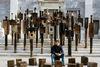 Έκθεσης έργων του γλύπτη  Θ. Παπαγιάννη στο Αρχαιολογικό Μουσείο