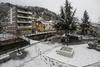 Χιονίζει στη Φλώρινα - Ανοιχτοί οι δρόμοι