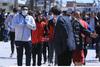 Λάρισα: Kαρέ - καρέ η ένταση στον οικισμό των Ρομά με Τσιόδρα - Χαρδαλιά (φωτο+video)