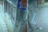 Θεσσαλονίκη - Ι.Χ. καρφώθηκε σε φανάρι (video)