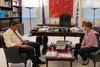 Συνάντηση Χριστίνας Αλεξοπούλου με τον ΥφυπουργόΠολιτισμού και Αθλητισμού