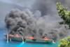 Κεφαλονία: Πυρκαγιά σε σκάφος και βύθιση αυτού στο Φισκάρδο