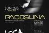 Pacosuna at Loca Beach Club