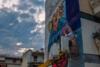Σε εξέλιξη το 3ο mural του Artwalk 5 - Το ξανθό παιδάκι που απεικονίζεται (φωτο)