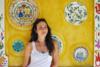 Στη Ζαχλωρού η ηθοποιός Ιζαμπέλα Μπαλτσαβιά (pics)
