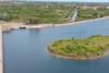 Βέροια: Η τεχνητή λίμνη Αλιάκμονα από ψηλά (video)
