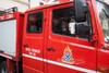 Καβάλα: Μεγάλη φωτιά σε πάρκινγκ πολυκατοικίας