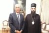 Ο Προέδρος του «Ι.Ε.Θ.Π. - Πάτρας» επισκέφθηκε τον Σεβασμιώτατο Επίσκοπο Νίσσης κ.κ. Αρσένιο
