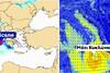 Καιρός: Προειδοποίηση για πιθανό μεσογειακό κυκλώνα