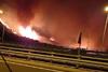 Πάτρα: Νύχτα τρόμου από τη φωτιά σε Συχαινά και Βούντενη - Εκκενώθηκαν οικισμοί (pics+video)