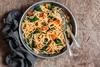 Συνταγή για σπαγγέτι με κολοκύθα και σπανάκι