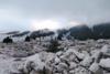 Αχαΐα: Έπεσε το πρώτο χιόνι στον Χελμό (video)