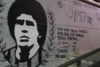 Έφτιαξαν γκράφιτι του Μαραντόνα στην Τούμπα