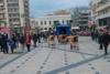 Δημοτικό Θέατρο Απόλλων - Πραγματοποιήθηκε η καρναβαλική δράση σιωπής για την απουσία των μαζικών εκδηλώσεων (φωτο)