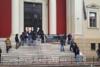 Πάτρα: Διαμαρτυρία αντιεξουσιαστών στο Δικαστικό Μέγαρο για τον Κουφοντίνα