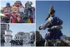 Η καρναβαλική αύρα της Πάτρας «χρωματίζει» το γκρίζο σκηνικό της (video)