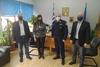 Επίσκεψη Αντιπεριφερειάρχη Αχαΐας και Προέδρου Περιφερειακού Συμβουλίου στη Γενική Περιφερειακή Αστυνομική Διεύθυνση Δυτικής Ελλάδας