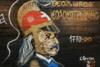 Δήμος Ελληνικού-Αργυρούπολης: Άγνωστοι βεβήλωσαν τα γκράφιτι με τους ήρωες της Επανάστασης του 1821 (φωτο)