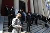 Έξω από το Δικαστικό Μέγαρο της Πάτρας οι δικηγόροι - Γιατί διαμαρτύρονται