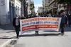 Ο Δήμαρχος Πατρέων Κώστας Πελετίδης στην κινητοποίηση των συνταξιούχων