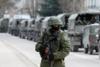 Ρωσία: Αποσύρεται ο στρατός από τα σύνορα της Ουκρανίας