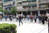 Πάτρα: Αντιπροσωπεία της ΤΕ Αχαΐας του ΚΚΕ κατέθεσε στεφάνι στην πλατεία Εθνικής Αντίστασης