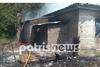 Ηλεία: Καταστράφηκε ολοσχερώς από φωτιά το σπίτι ηλικιωμένου (pics+video)