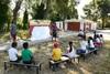 Πάτρα - 'Δες το Σφαιρικά': Τα παιδιά ήρθαν κοντά στο χορό στο θέατρο και το θέατρο Σκιών (φωτο)