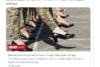 Oυκρανία: Γυναίκες στρατιωτικοί παρελαύνουν με γόβες