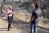 Ο Άγγελος Τσιγκρής στα πύρινα μέτωπα της Αχαΐας, σε Πάτρα και Ερύμανθο (φωτο)