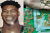 Σέρρες: Εντυπωσιακό πορτραίτο του Γιάννη Αντετοκούνμπο από... χιλιάδες τουβλάκια Lego