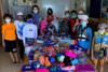 Οι μικροί αθλητέςτου Ιστιοπλοϊκού Ομίλου Πατρών κοντά στα πυρόπληκτα παιδιά της Εύβοιας