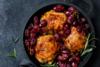 Συνταγή για κοτόπουλο με κόκκινα σταφύλια