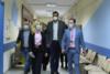 Μαρινάκης και Βοϊδονικόλας στο Νοσοκομείο Μεταξά για την Παγκόσμια Ημέρα κατά του Καρκίνου του Μαστού