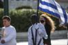 Μαύρος σημαιοφόρος έκλεψε την παράσταση στην μαθητική παρέλαση στο Σύνταγμα