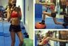Δείτε το πρόγραμμα γυμναστικής της Izabel Goulart (pics+video)