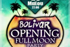Full Moon Grand Opening στο Bolivar Beach Bar με guest The GRooMZ live!
