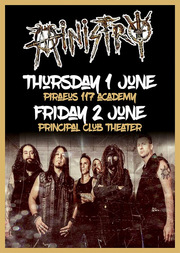 Ministry Live at Principal Club Theater