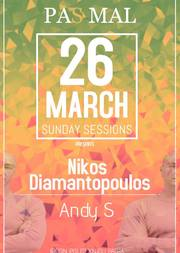 Nikos Diamantopoulos & Andy S - Sunday Sessions at Pas Mal