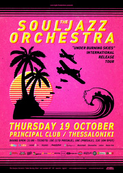 The Souljazz Orchestra στο Principal Club Theater