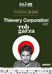 Thievery Corporation Dj Set - Rob Garza στο Bolivar Beach Bar